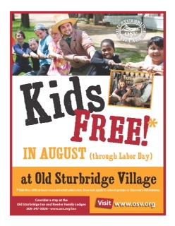875 Kids Free in August flier_073113